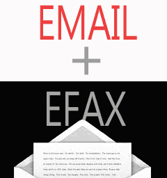 email + fax